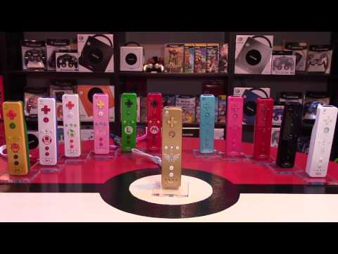 Display for Wii Remotes | Nintendo Collecting