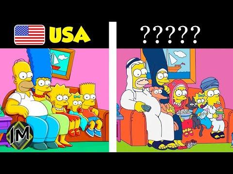 Come cambiano i cartoni negli altri paesi...