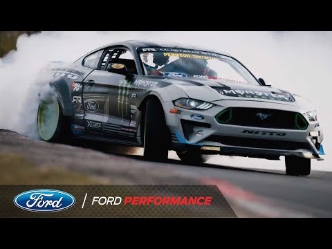 Ford Mustang Drifts the Nurburgring with Vaughn Gittin Jr. | Ford Performance