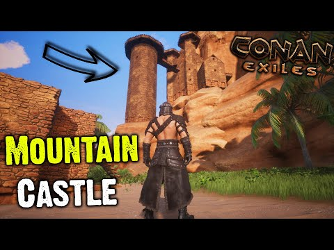 Conan Exiles - Mountain Castle Base Tour (First Ever Base) |