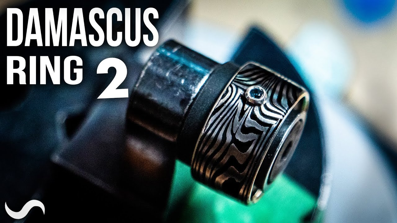 MAKING A DAMASCUS RING!!! Part 2