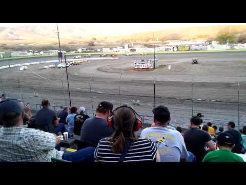 Derek Nance Santa Maria Speedway Heat 9.6.15