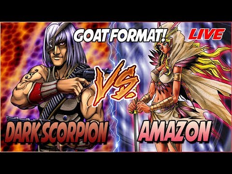 YuGiOh 2005 Goat Format! Dark Scorpion vs Amazon  Live Match! 