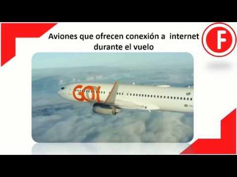 Aviones con conexión a Internet