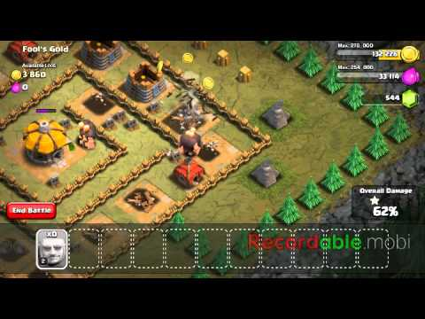 Clash of clans fool's gold