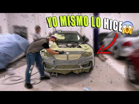 PREPARANDO PARA PINTAR MI BMW M4 CHOCADO #14 || ALFREDO VALENZUELA