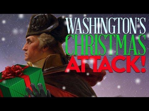 Washington's Delaware Crossing - History Of The Battle Of Trenton