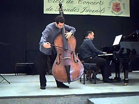 Sperger Double bass concerto 15-  1st mvt - Edicson Ruiz (Berliner Philarmoniker) Basilio Fernández