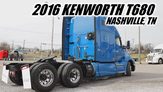 2016 Kenworth T680 Tractor - Less than 500k miles!