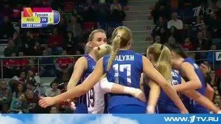 Российские волейболистки победили Италию в матче олимпийского отбора, смотреть полное видео скачать