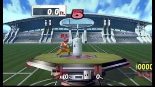 Goku intenta hacer un home run en SS Project M TAS