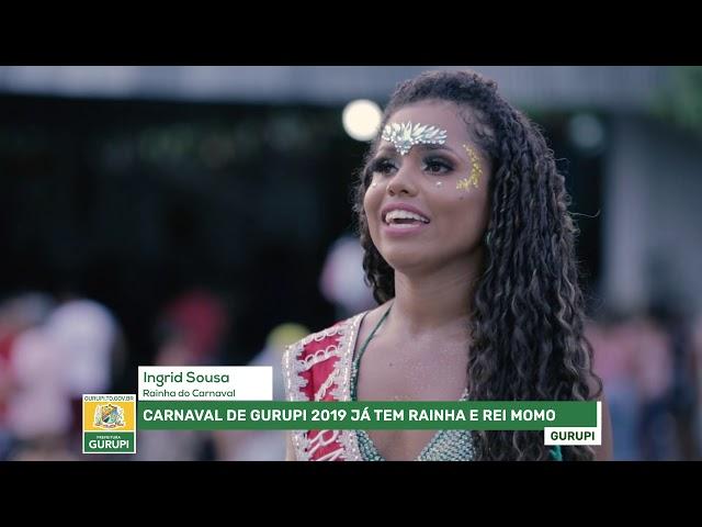 Rainha e Rei Momo do Carnaval de Gurupi 2019