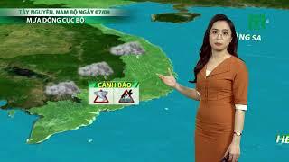 Thời tiết Cuối ngày 05/04/2020  VTC14
