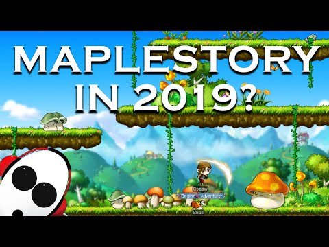 Maplestory in 2019?    Returning to MMOs Episode 1