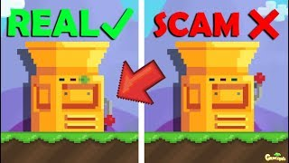 GrowTopia | NEW SCAM BUILDING MACHINE (2019) OMG!!