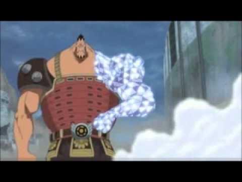 Diamond Jozu vs Aokiji (Jozu lost his arm)