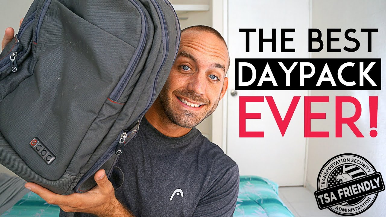 THE BEST DAYPACK FOR TRAVEL - YouTube