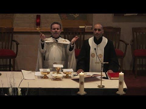 Messe de Saint Charbel 22-Jan-2018, Monastère et Paroisse Saint Antoine Le Grand Montréal