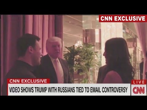 Video shows Trump with Russians tied to email controversy Agalarov and Rob Goldstone #email #video