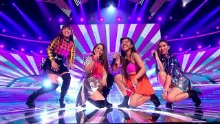 4th Impact - Sound of the Underground/ Clapping Song. | Live Week 2 | The X Factor 2015