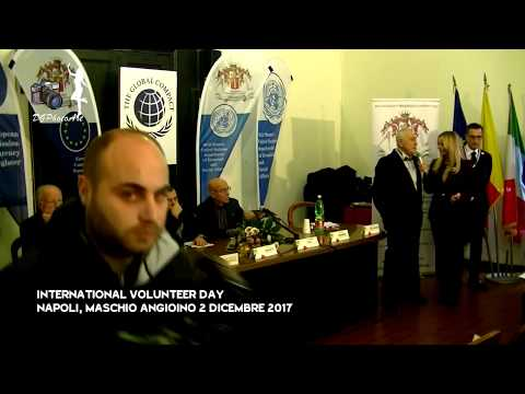 International Volunteer Day   Napoli 2 dicembre 2017