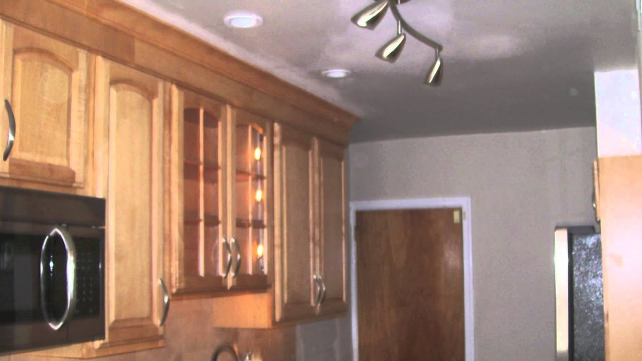 Remodel Small Kitchen Wood And Glass Cabinets Philadelphia Airlite Rowhome ...