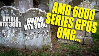 NVIDIA Never saw this coming... AMD on top??