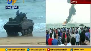 Indian Navy Rehearsals | at RK Beach | Vizag | Draws Attention of Visitors