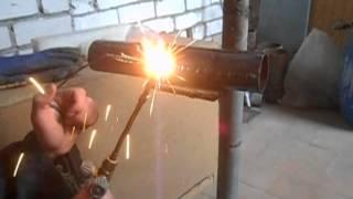 Как научиться варить газосваркой (горизонтальный шов)(В продолжении газосварки, варим горизонтальный шов., 2015-11-17T09:55:14.000Z)