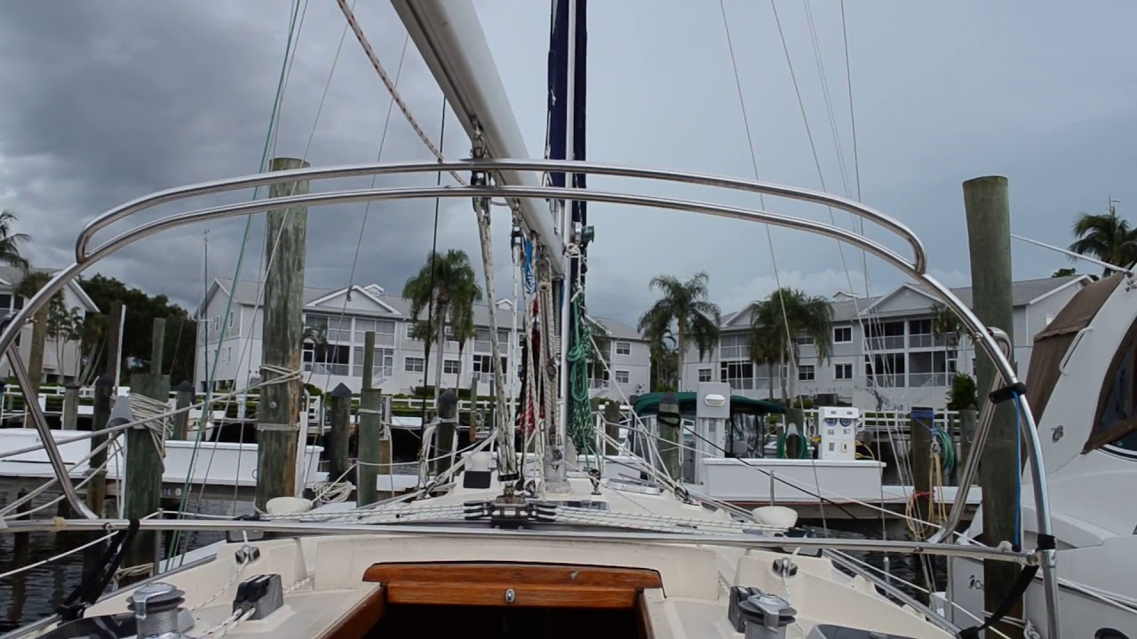 1998 Island Packet 350 for sale by Edwards Yacht Sales