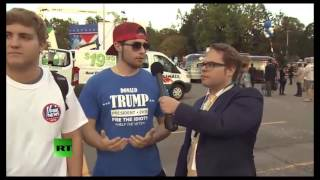 WEB EXCLUSIVE: Trump Supporters Epic Fail
