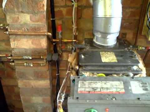 Experimental Oil Fired Boiler Burning WVO-SVO / Kerosene mix.
