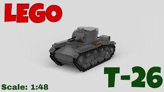 LEGO Т-26 (by GioV) огляд.
