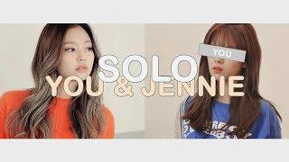 [ karaoke ver. ] jennie - solo // you && jennie