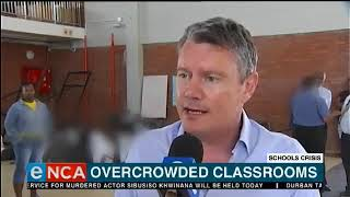 Overcrowded classrooms in cape town schools