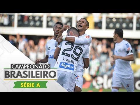 Melhores momentos - Santos 1 x 0 Coritiba - Campeonato Brasileiro (20/05/2017)
