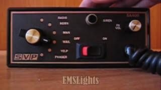 Police Siren 200W SA-400-93 14V