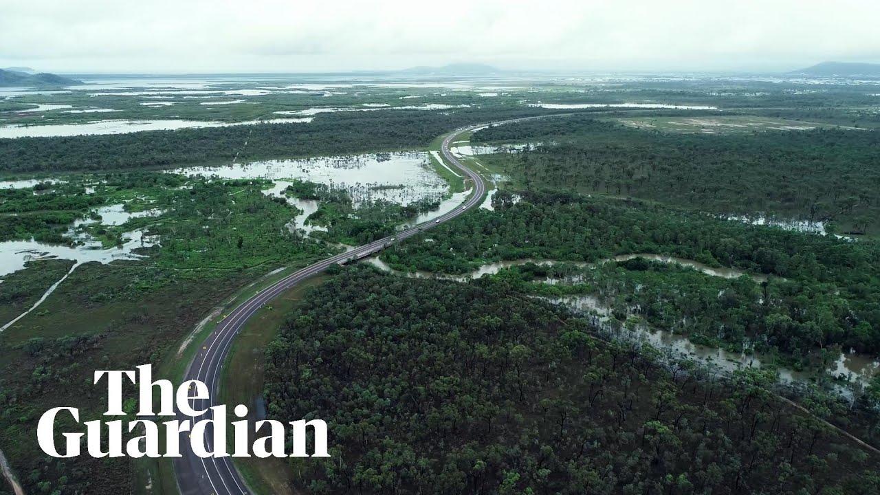 Queensland floods: emergency dam release as Townsville hit