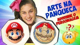 DESAFIO ARTE NA PANQUECA (Pancake Art Challenge)
