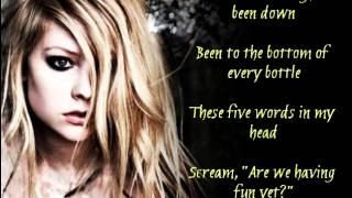 Avril Lavigne - How You Remind Me (Lyrics)