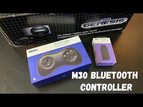 8BitDo M30 Bluetooth Controller - Genesis/Mega Drive, Switch & More! thumbnail