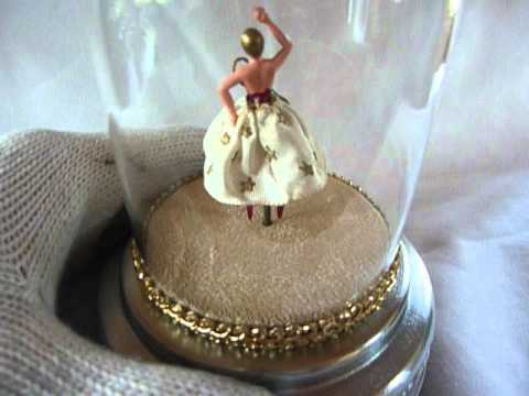 how to make a spinning ballerina music box