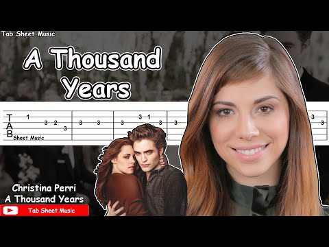 Christina Perri - A Thousand Years Guitar Tutorial
