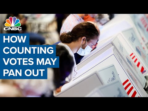 How counting the votes in the 2020 election may pan out