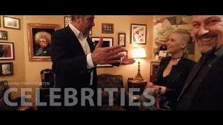 Brad Garrett's Comedy Club in Las Vegas - meeting Brad!