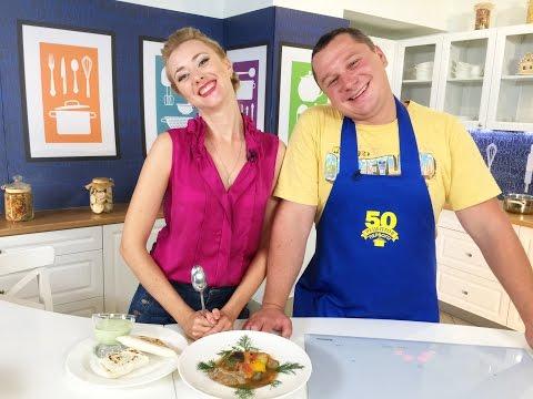 Готовим салат с соленой семгой и картофелем и рыбу по-Гречески. 50 рецептов первого