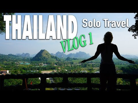 Travel Thailand Vlog 1