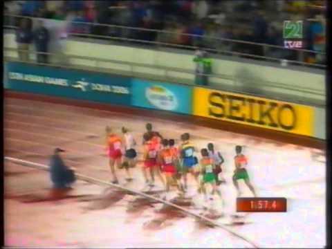 Atletismo :: Rui Silva, medalha de bronze nos 1500m dos Mundiais de Helsínquia em 2005