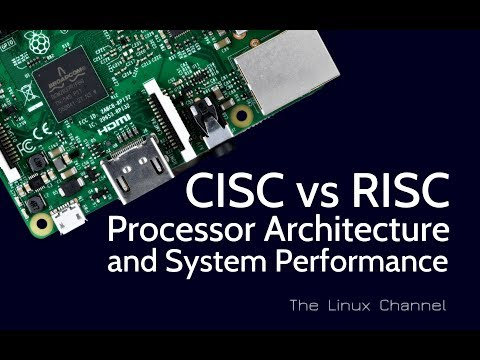 284 CISC vs RISC Processor Architecture and System Performance