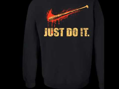 t shirt nike just do it negan